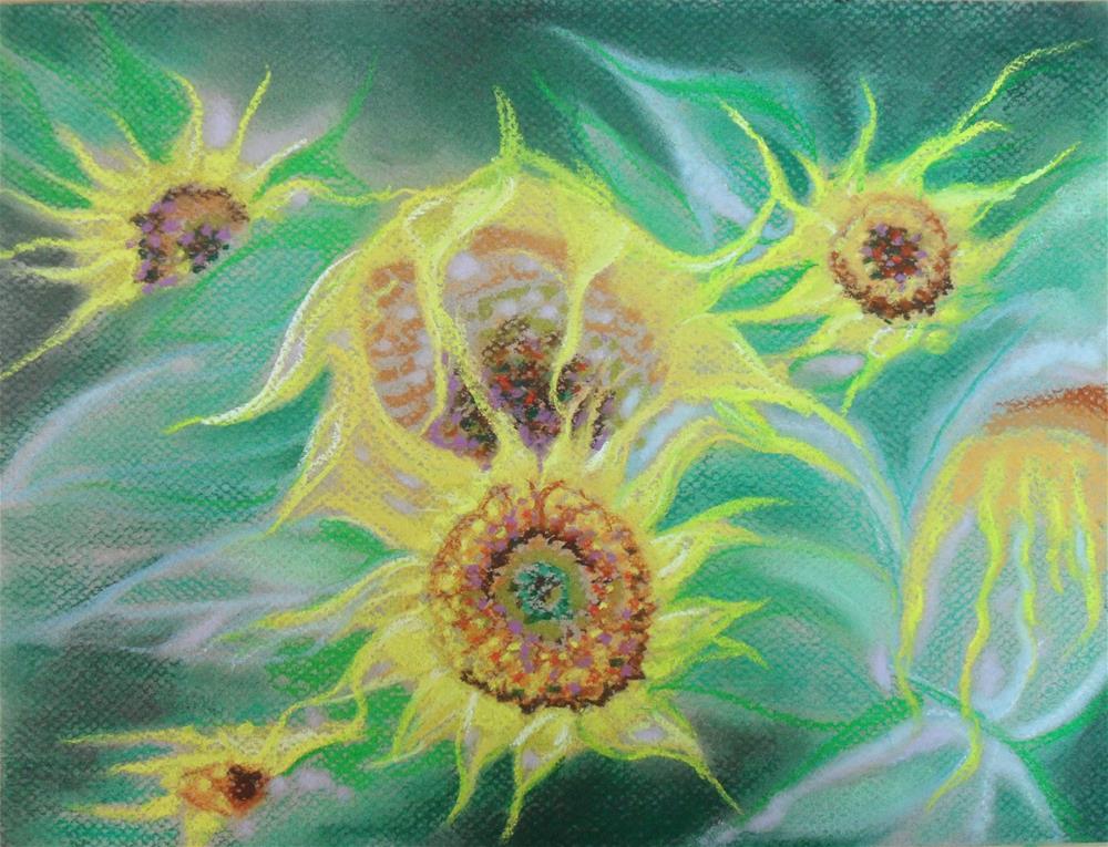 """""""Connections"""" original fine art by Karen Roncari"""