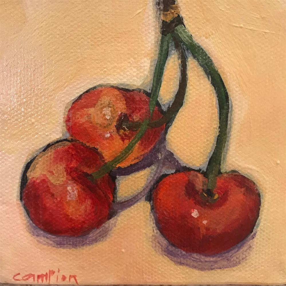 """937 Triple Play"" original fine art by Diane Campion"