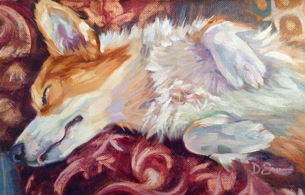 """Visions of Sugarplums"" original fine art by Deborah Savo"
