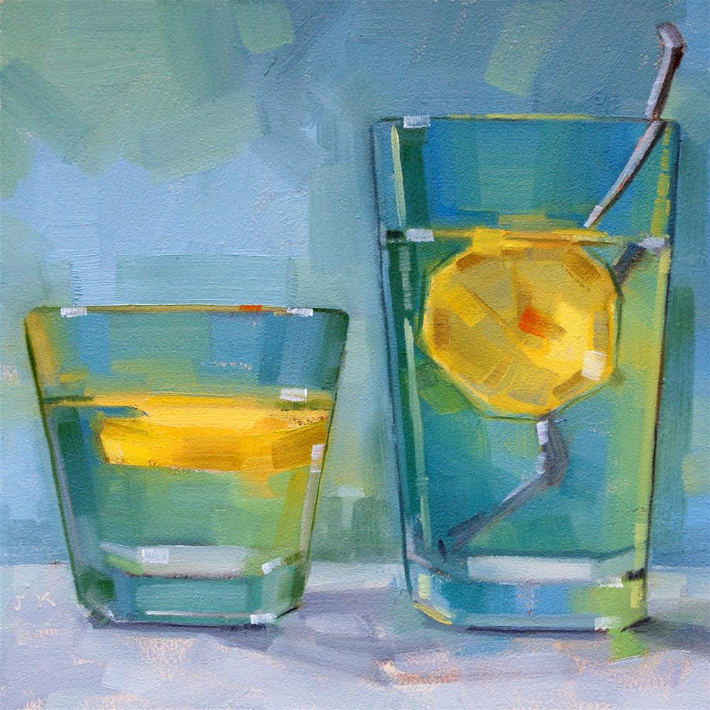 """Refreshers"" original fine art by Jiyoung Kim"