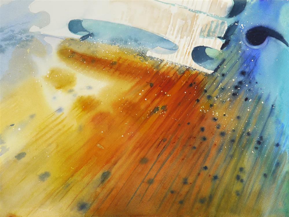 """violin_variation_2"" original fine art by Beata Musial-Tomaszewska"