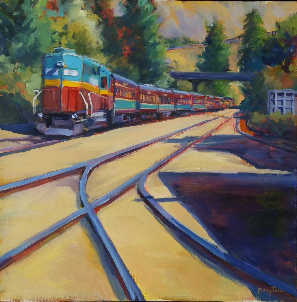 """Summer Journey"" original fine art by Wendy Brayton"