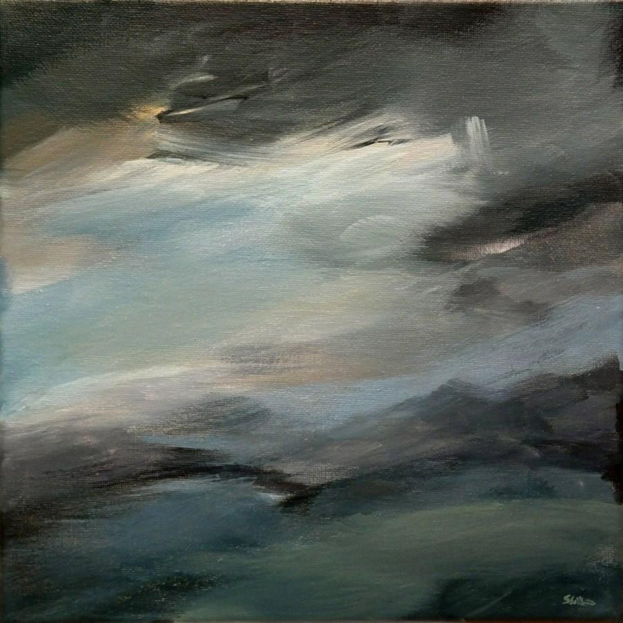 """""""1174 Piece of Heaven"""" original fine art by Dietmar Stiller"""
