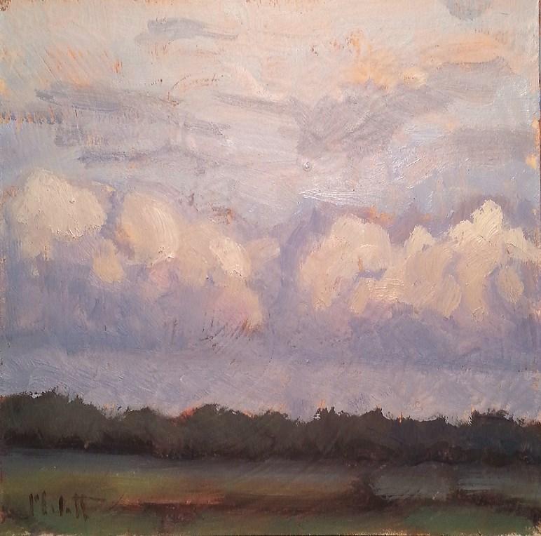 """Summer Days Oil Sketches Daily Painting"" original fine art by Heidi Malott"