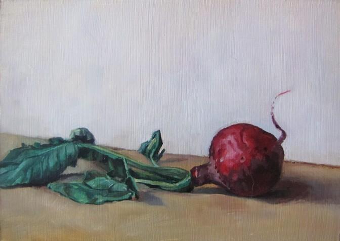 """""""44 - Radish 1"""" original fine art by Edward Watson"""