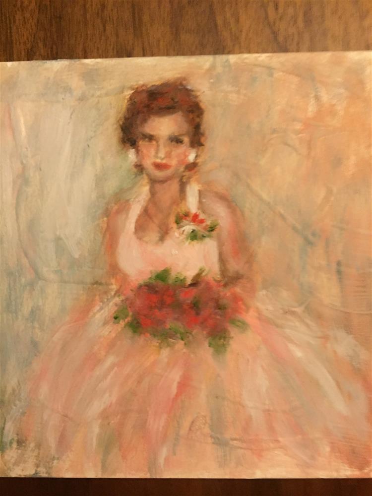 """Princess Dreams"" original fine art by Michelle Linnihan"
