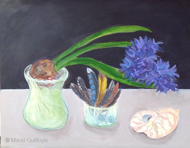 """The Artist's Eye"" original fine art by Maud Guilfoyle"