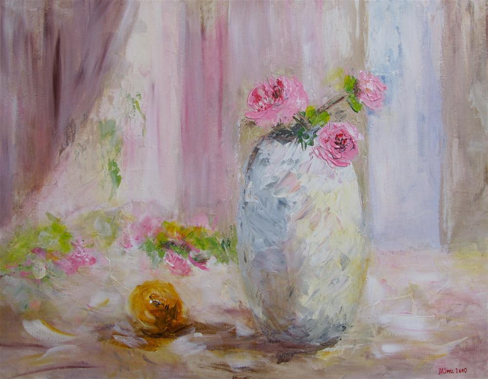 """""""Morning Sun"""" original fine art by Alina Vidulescu"""