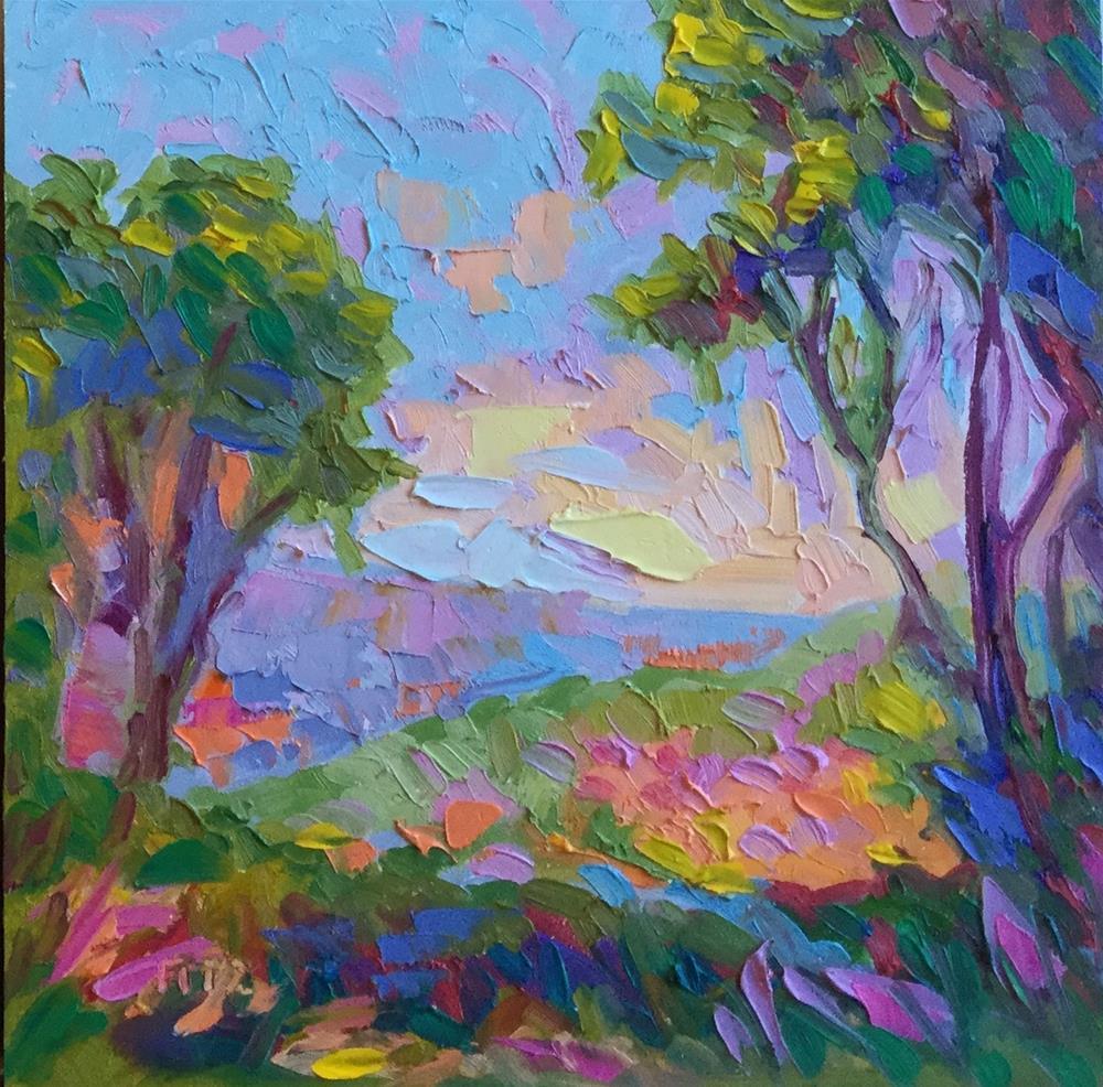"""Happy Colors"" original fine art by Charlotte Fitzgerald"