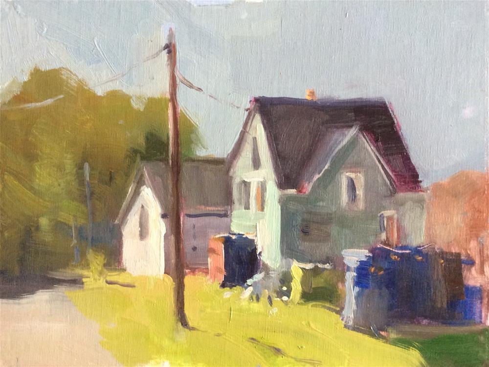 """Maine"" original fine art by Carol Josefiak"