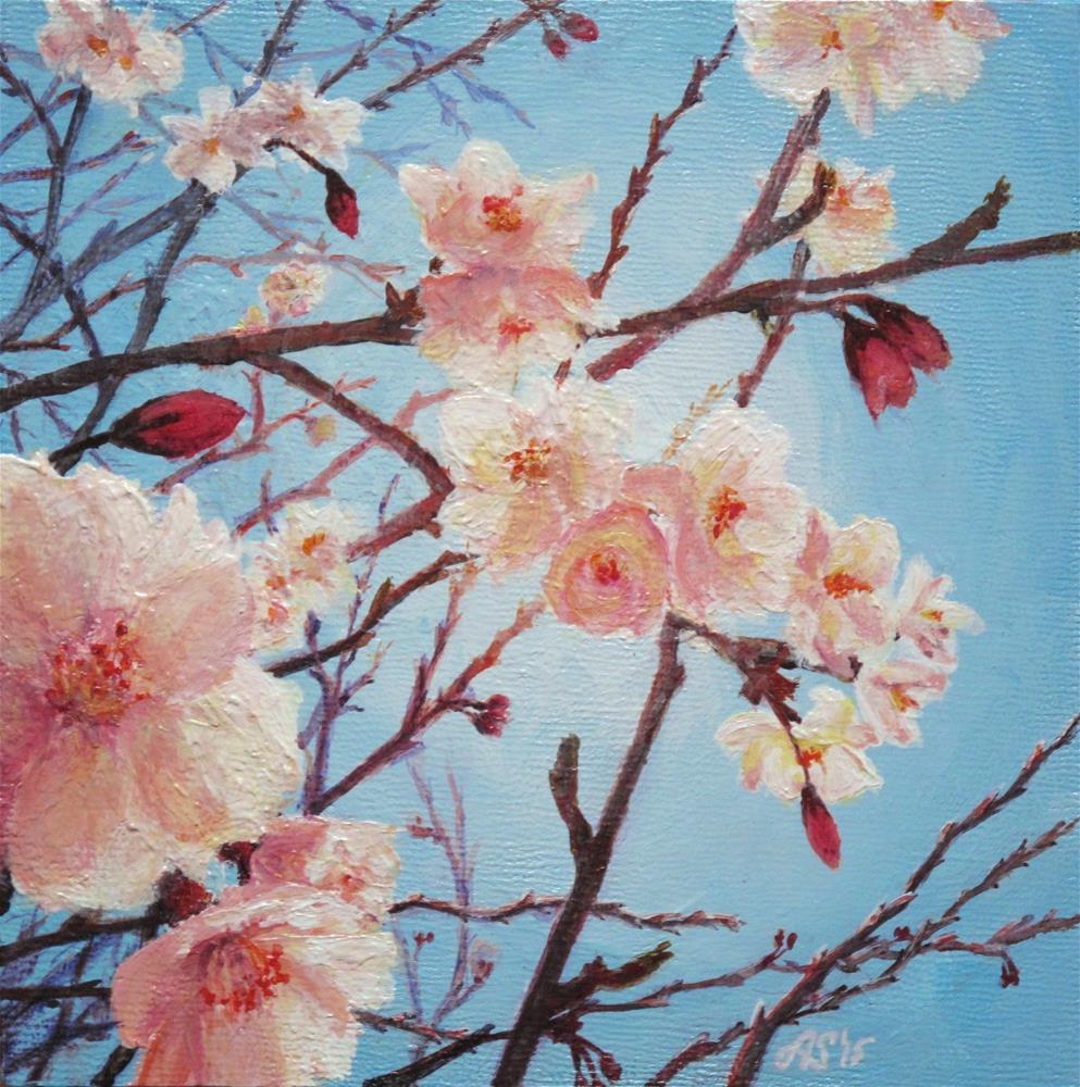 """In bloom II"" original fine art by Anna Starkova"