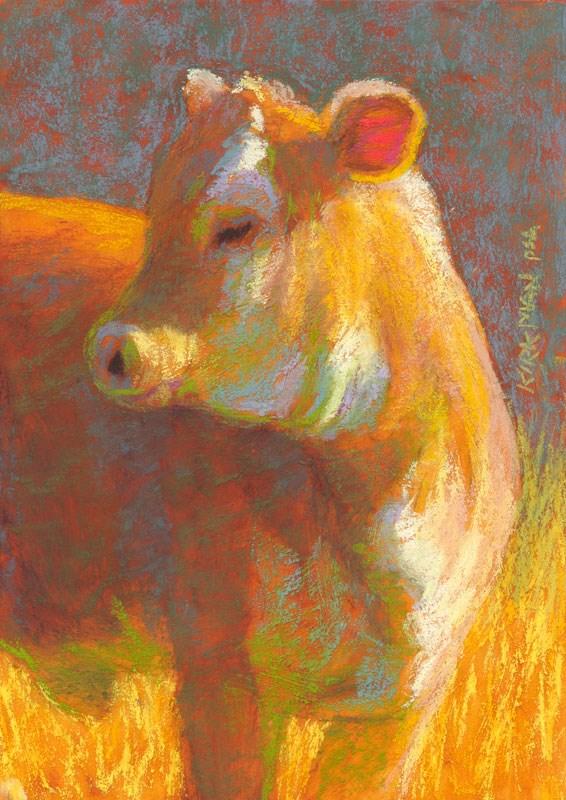 """Sunny Daze - day 22"" original fine art by Rita Kirkman"