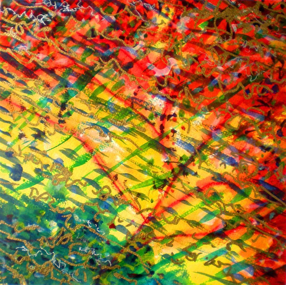 """Liquid Abstract #2 - 15022-2"" original fine art by richard rochkovsky"
