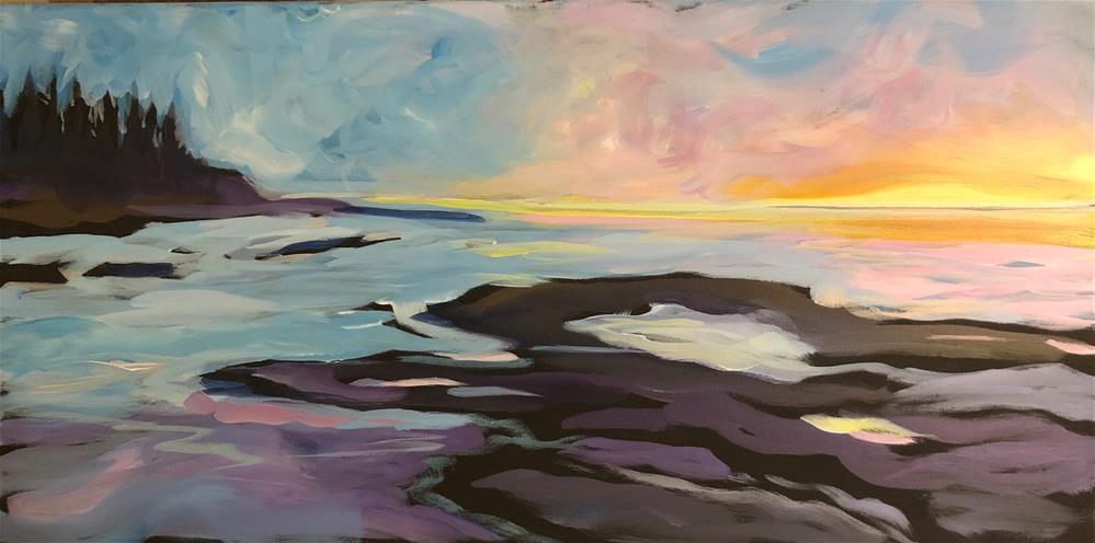 """Sunrise Suffusion"" original fine art by Kat Corrigan"