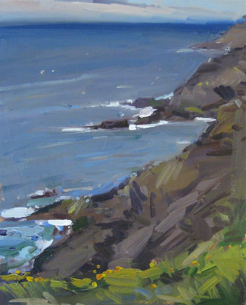 """Rocky Creek Vista"" original fine art by Sarah Sedwick"