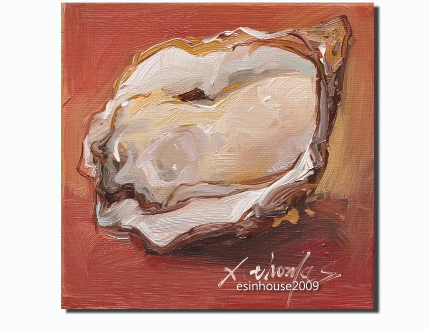 """Oyster"" original fine art by Thomas Xie"