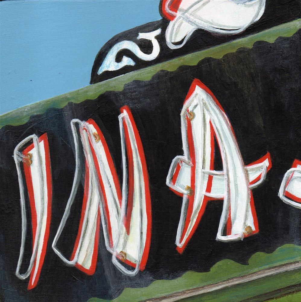 """INA"" original fine art by Debbie Shirley"
