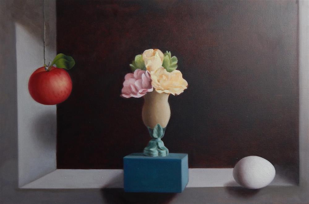 """Still Life After Cotan"" original fine art by Megan Schembre"