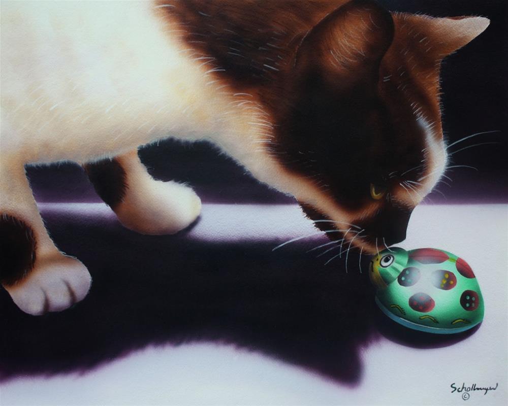 """Kinda Buggy"" original fine art by Fred Schollmeyer"