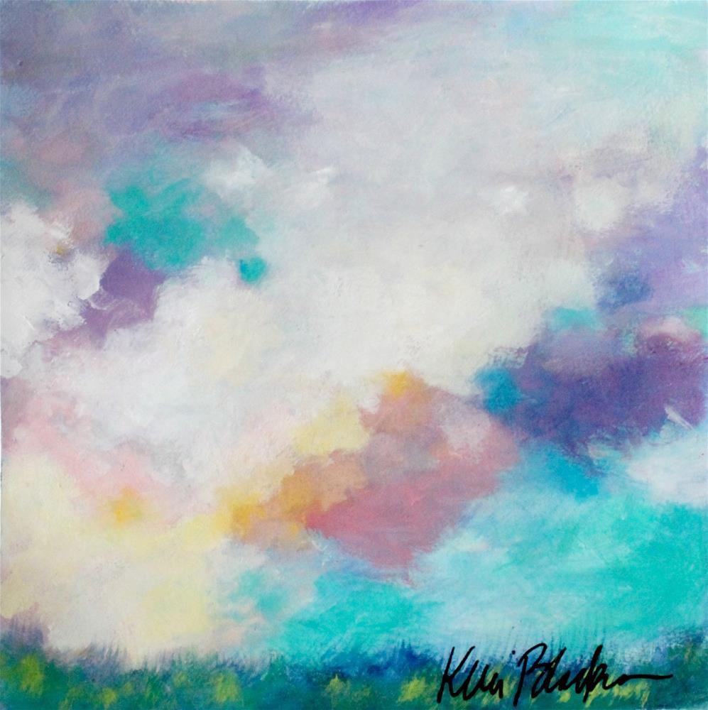 """Fair Skies"" original fine art by Kerri Blackman"