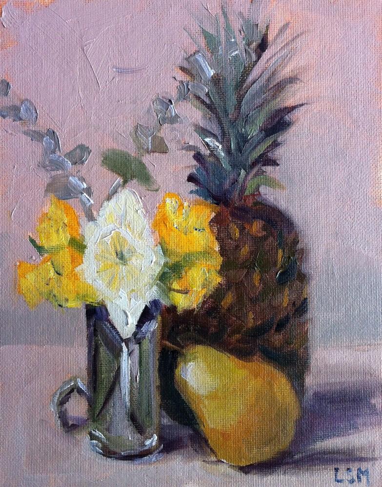 """Welcoming Spring"" original fine art by Linda Marino"