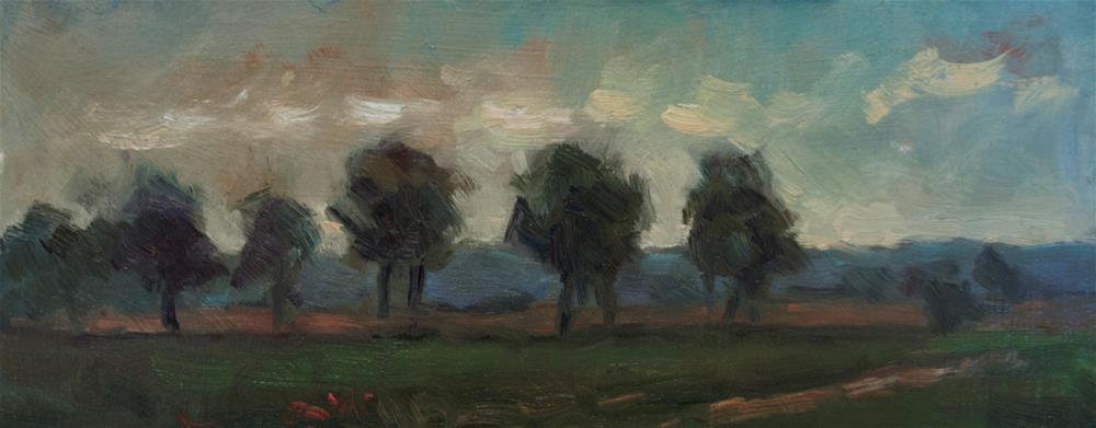 """Ashdown Forest"" original fine art by Andre Pallat"