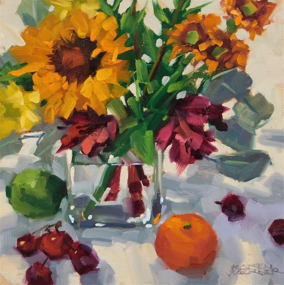 """Small Joys"" original fine art by Karen Werner"