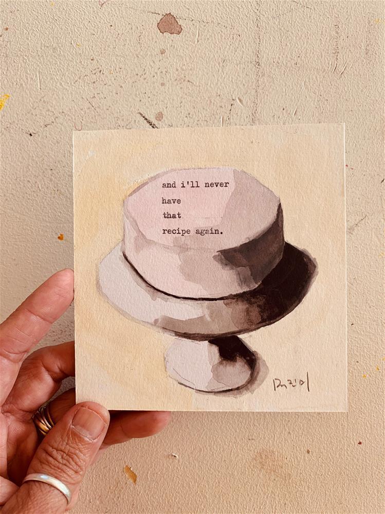 """""""761 CAKE"""" original fine art by Jenny Doh"""