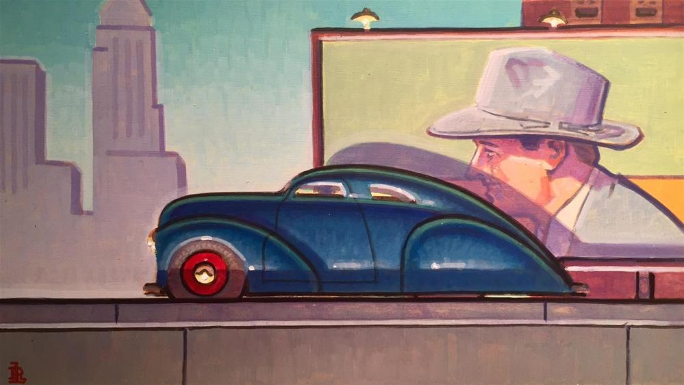 """Hats"" original fine art by Robert LaDuke"
