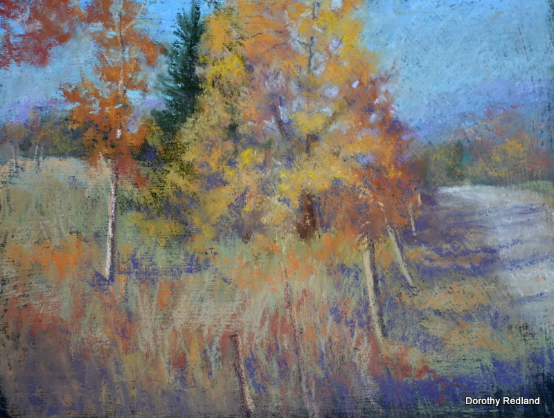 """Colors of New England"" original fine art by Dorothy Redland"