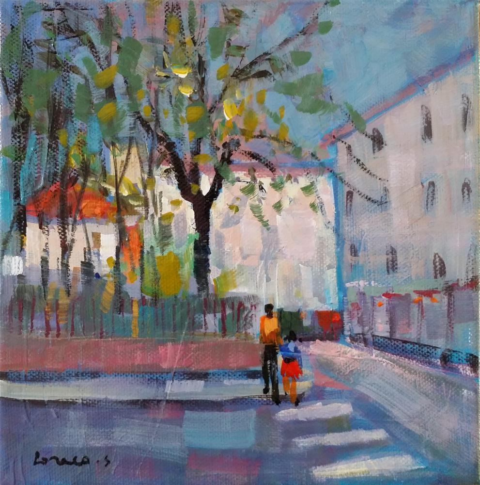 """Paris #3"" original fine art by salvatore greco"