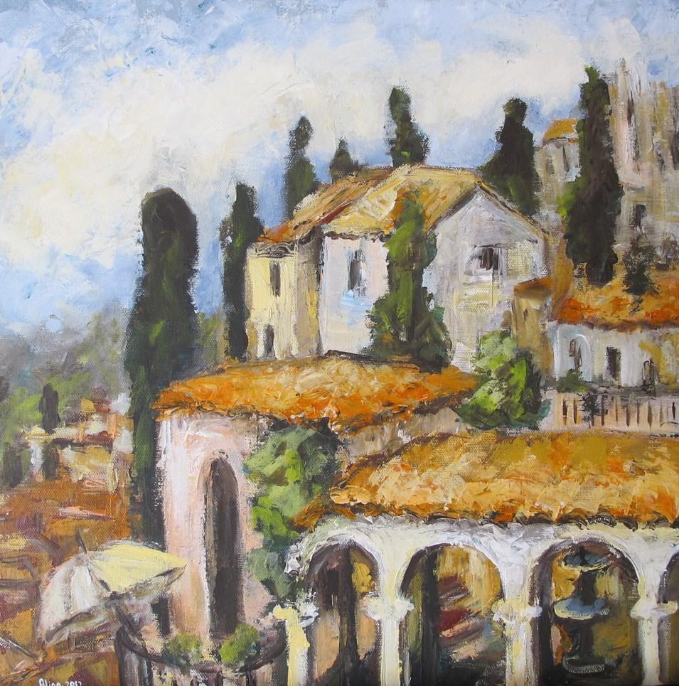 """""""Untitled"""" original fine art by Alina Vidulescu"""
