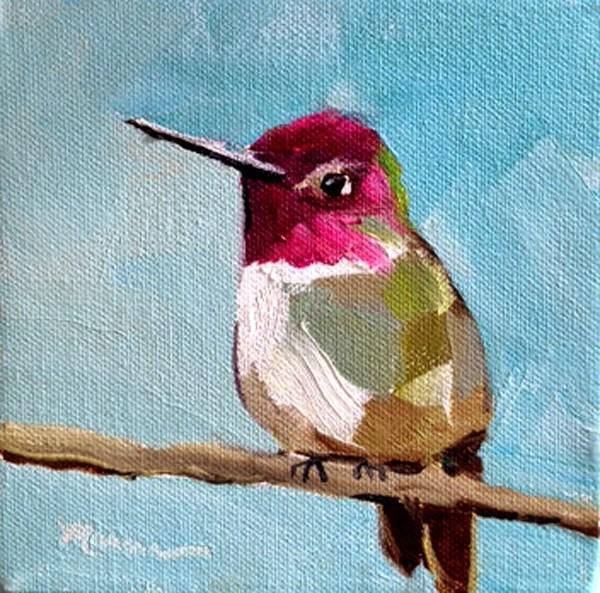 """Sittin' Pretty"" original fine art by Marcia Hodges"