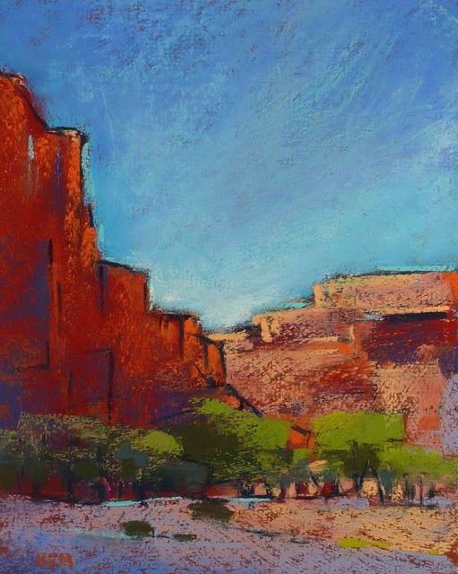 """Canyon de Chelly Valley Floor"" original fine art by Karen Margulis"