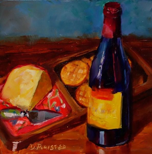 """Smoking Loon"" original fine art by Diane Plaisted"