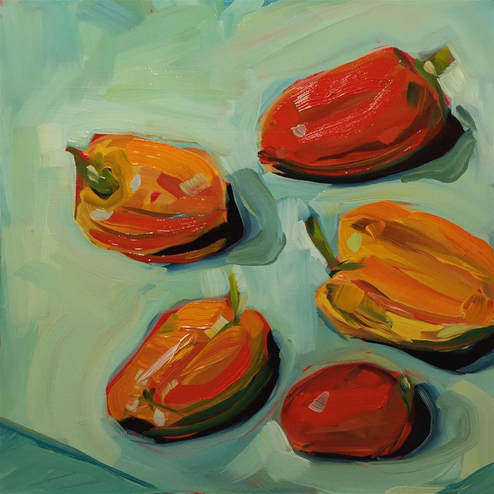 """""""0444: Pick a Pepper"""" original fine art by Brian Miller"""