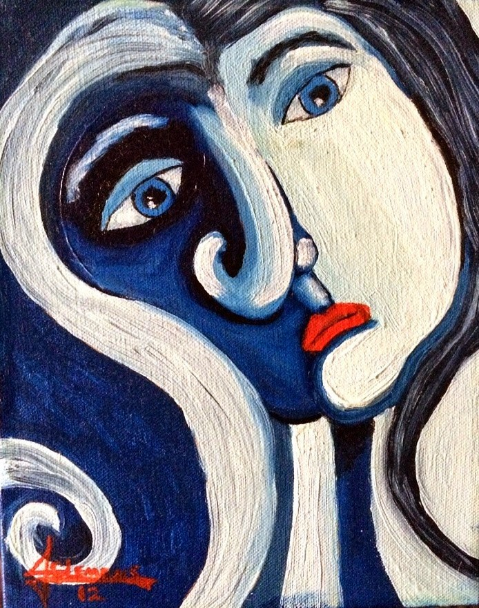 """Daydreaming"" original fine art by Jolynn Clemens"