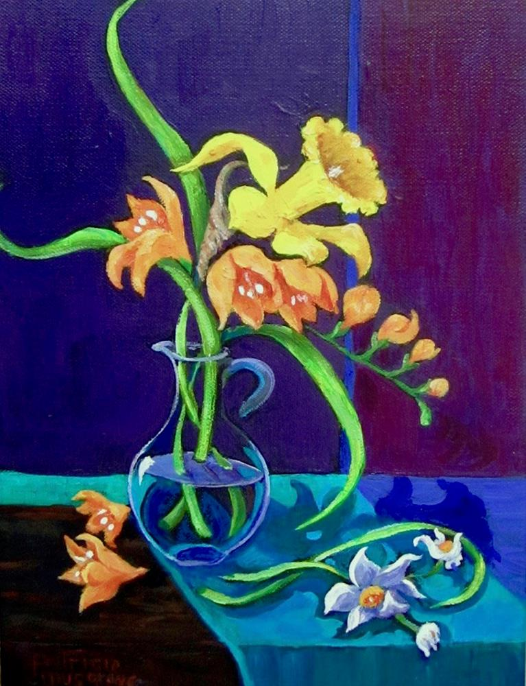 """Spring Song"" original fine art by Patricia Musgrave"