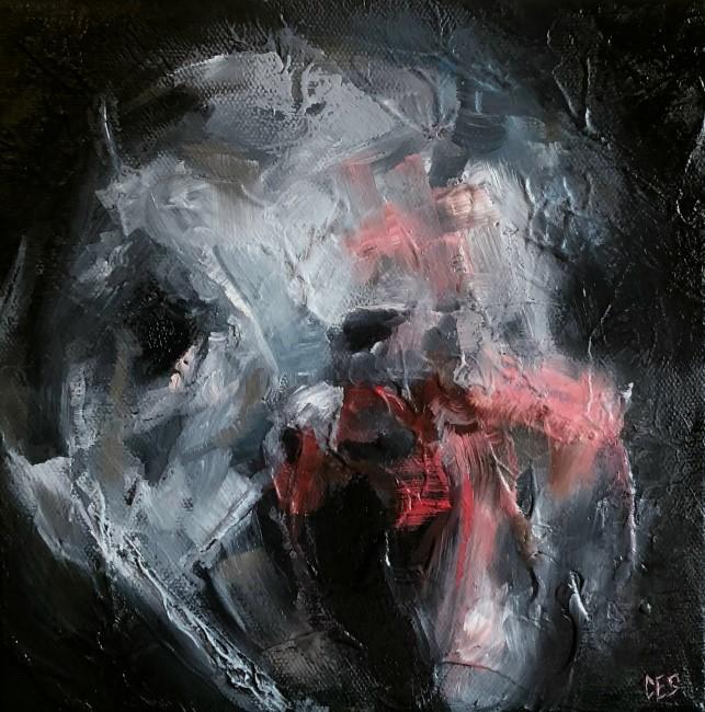 """Vitriol"" original fine art by Christine E. S. Code"