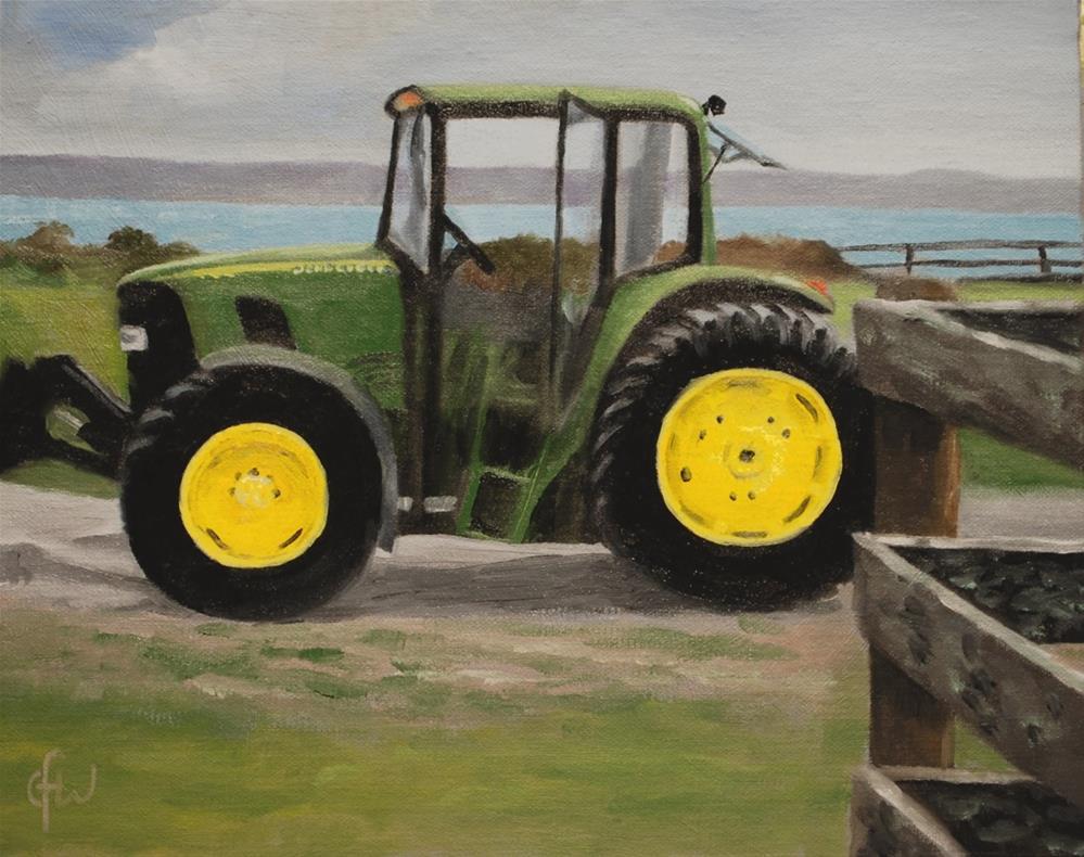"""John Deere"" original fine art by Gary Westlake"