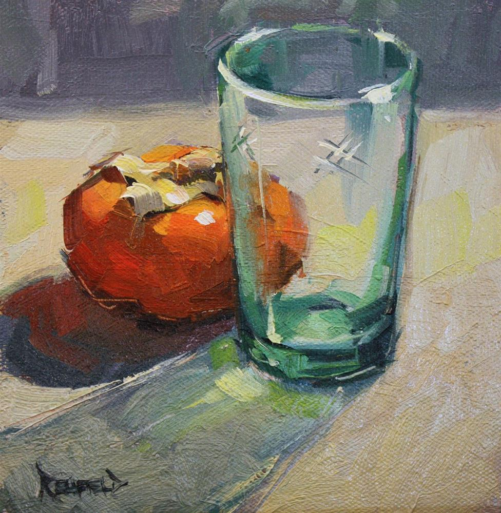 """Through Glass"" original fine art by Cathleen Rehfeld"