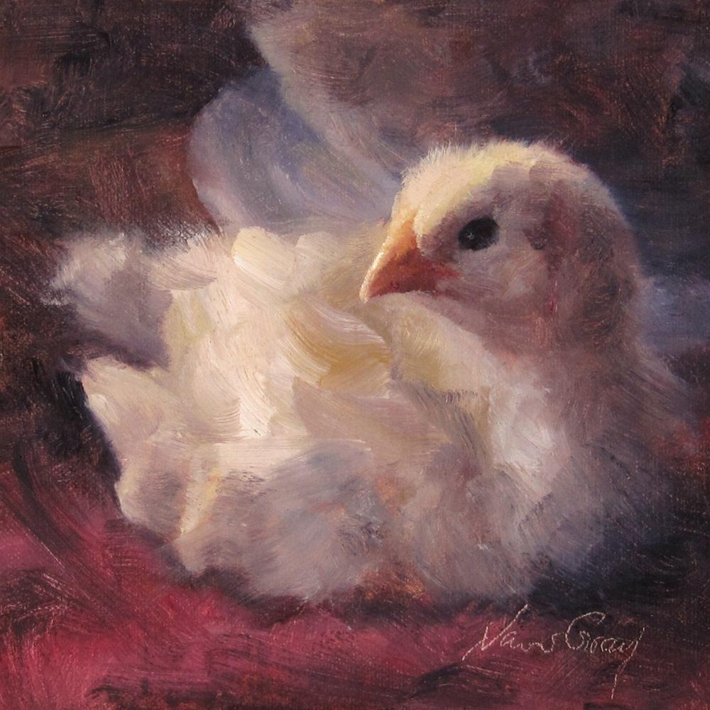 """Baby Moe"" original fine art by Naomi Gray"