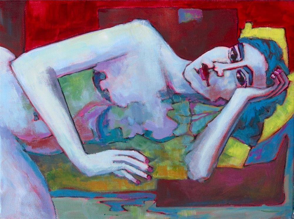 """Side View"" original fine art by Patricia MacDonald"
