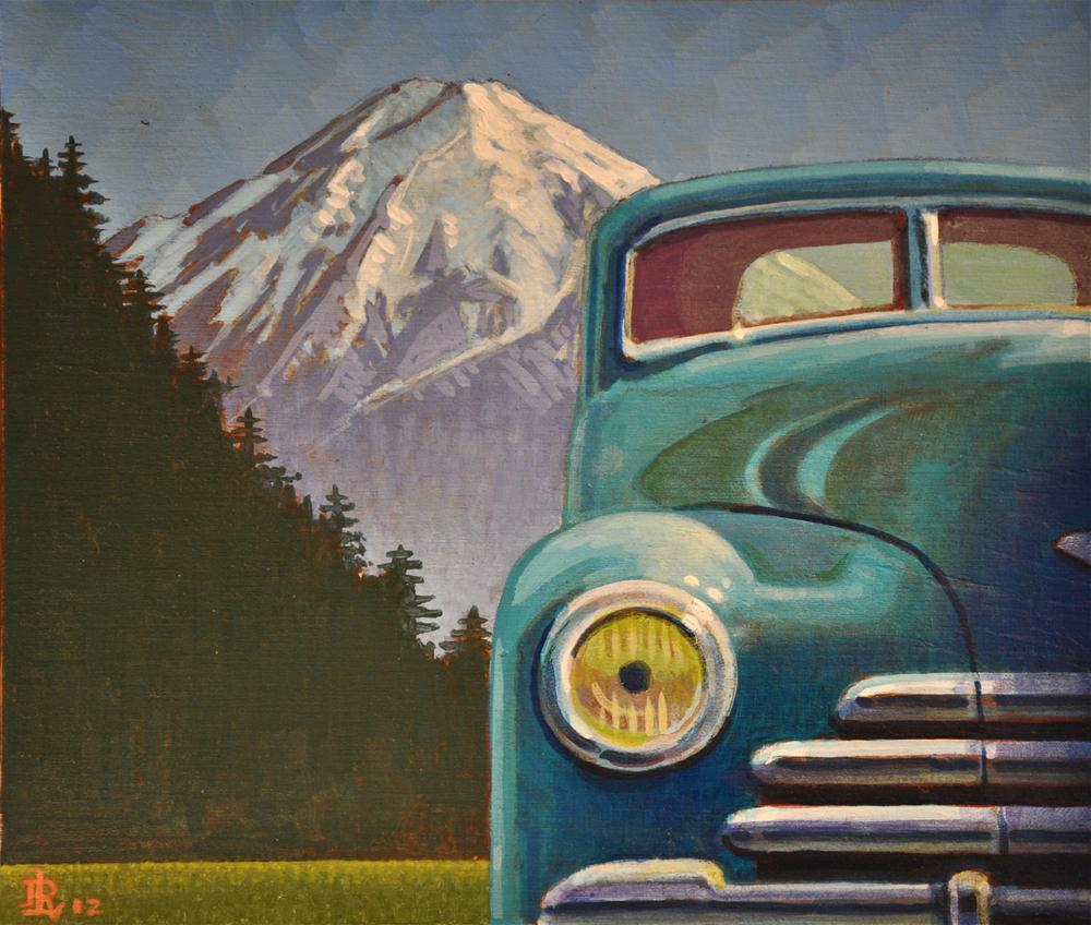 """Cyclops"" original fine art by Robert LaDuke"