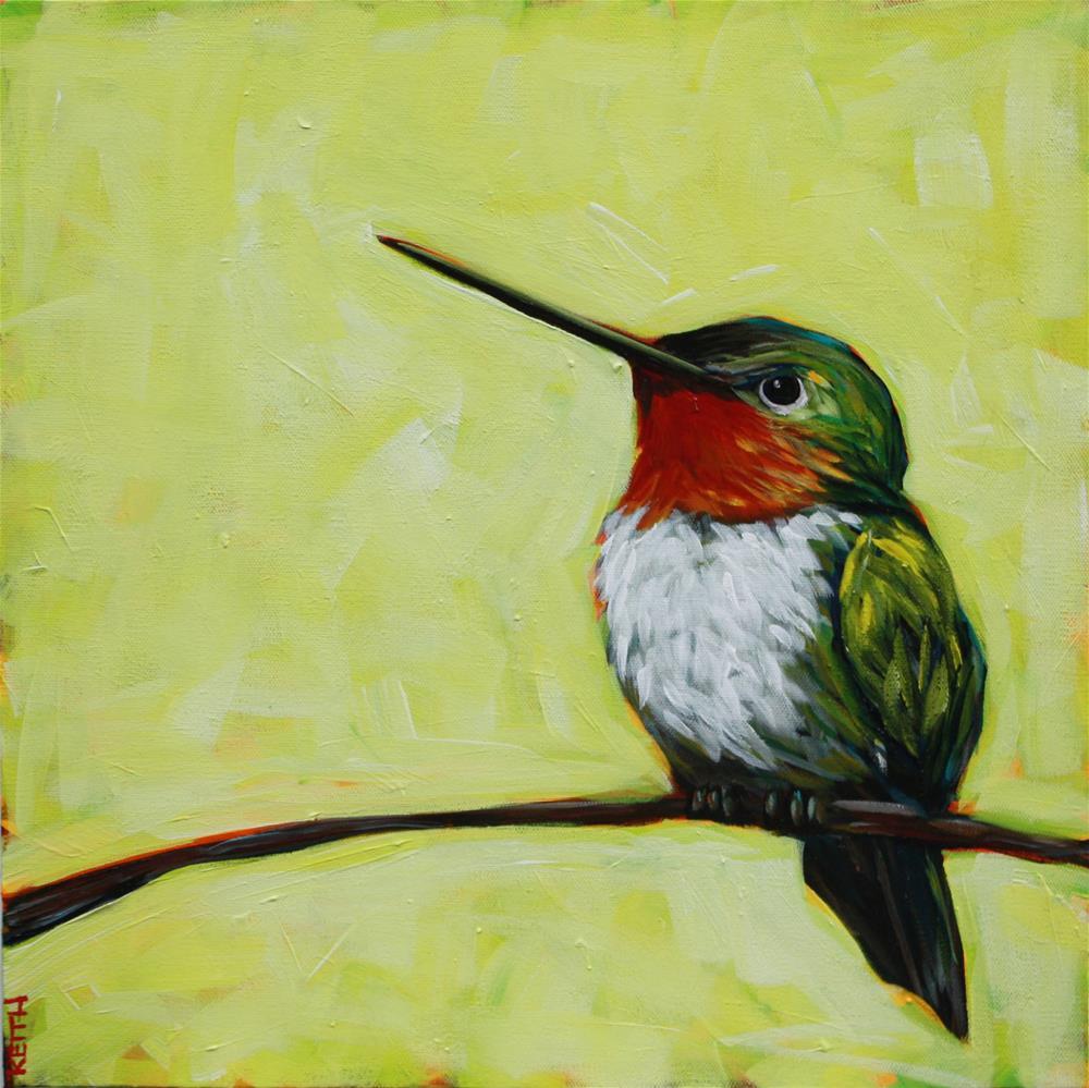 """Letting Go"" original fine art by Kandice Keith"