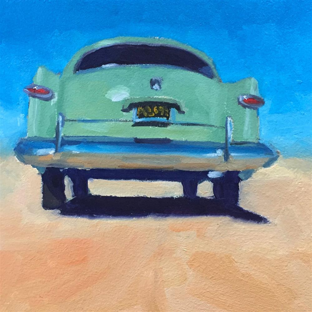 """""""Old Ford"""" original fine art by Lisa Sotero"""