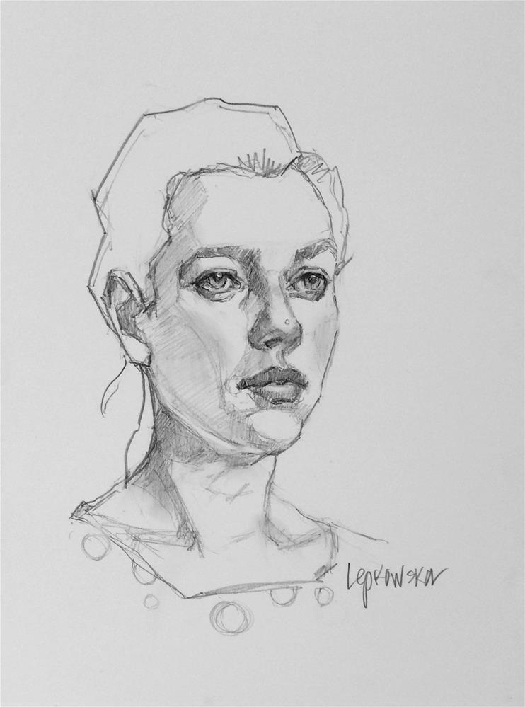 """Quiet moments to remember"" original fine art by Laurie Johnson Lepkowska"
