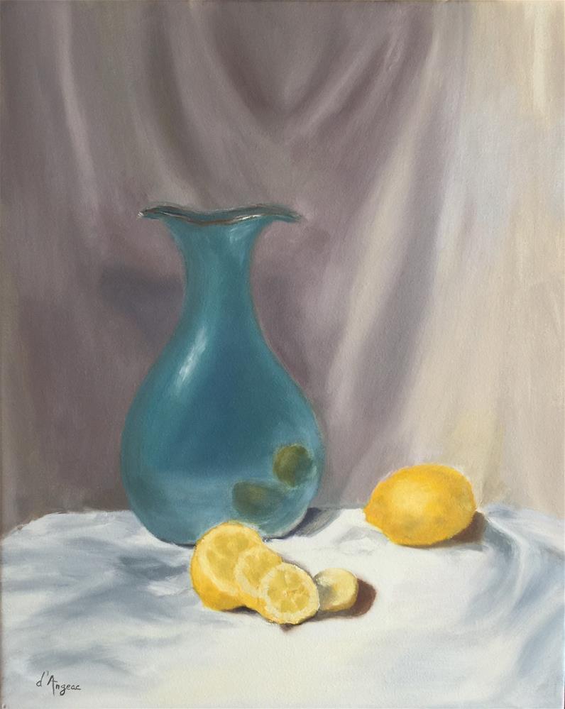 """""""Still Life I"""" original fine art by Karen D'angeac Mihm"""