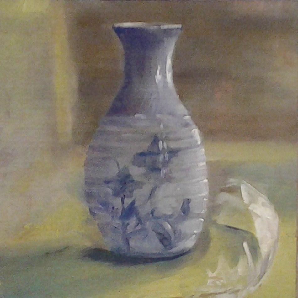 """Fragile as a Feather"" original fine art by A.K. Simon"