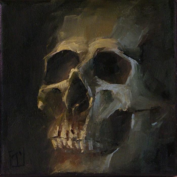 """Boris"" original fine art by Lori Twiggs"